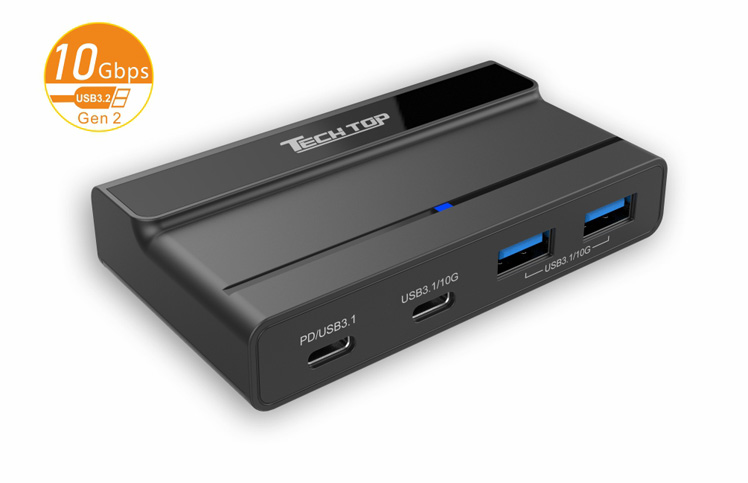 H300A: USB3.1 Gen2 Type-C 4-Port HUB